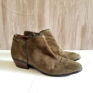 Sam Edelman Petty Suede Ankle Boots Booties